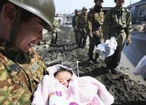 Sauvetage d'une jeune enfant de 4 mois dans le nord du Japon