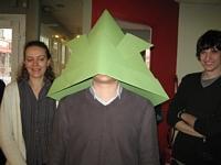 Origami pour Sendai - Kabuto géant !