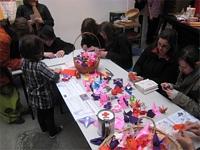 Origami pour Sendai existe à Paris aussi