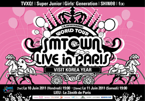 SMTOWN Live in Paris
