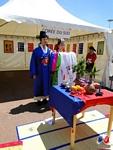Stand Corée du Sud - Démonstration de la cérémonie du mariage