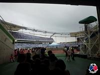 Entrée du stade